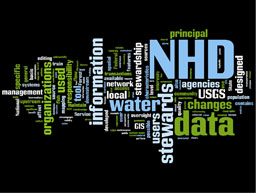 Wordle: National Hydrography Dataset